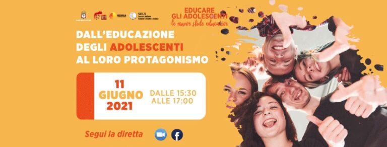 evento finale educare gli adolescenti